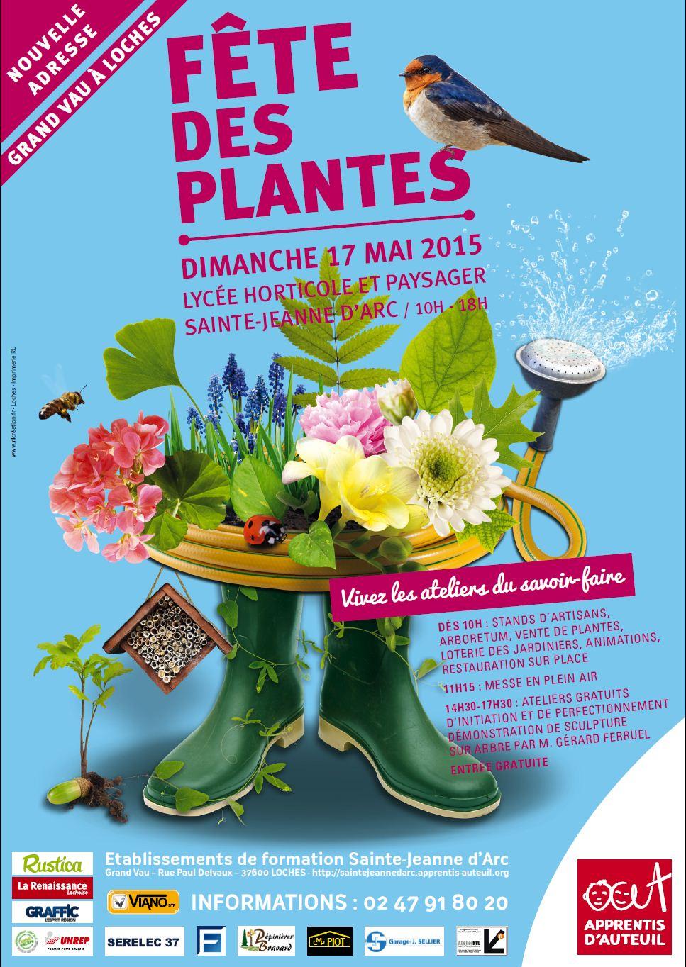 Etablissements de formation sainte jeanne d 39 arc f te des plantes - Fete des plantes chantilly ...