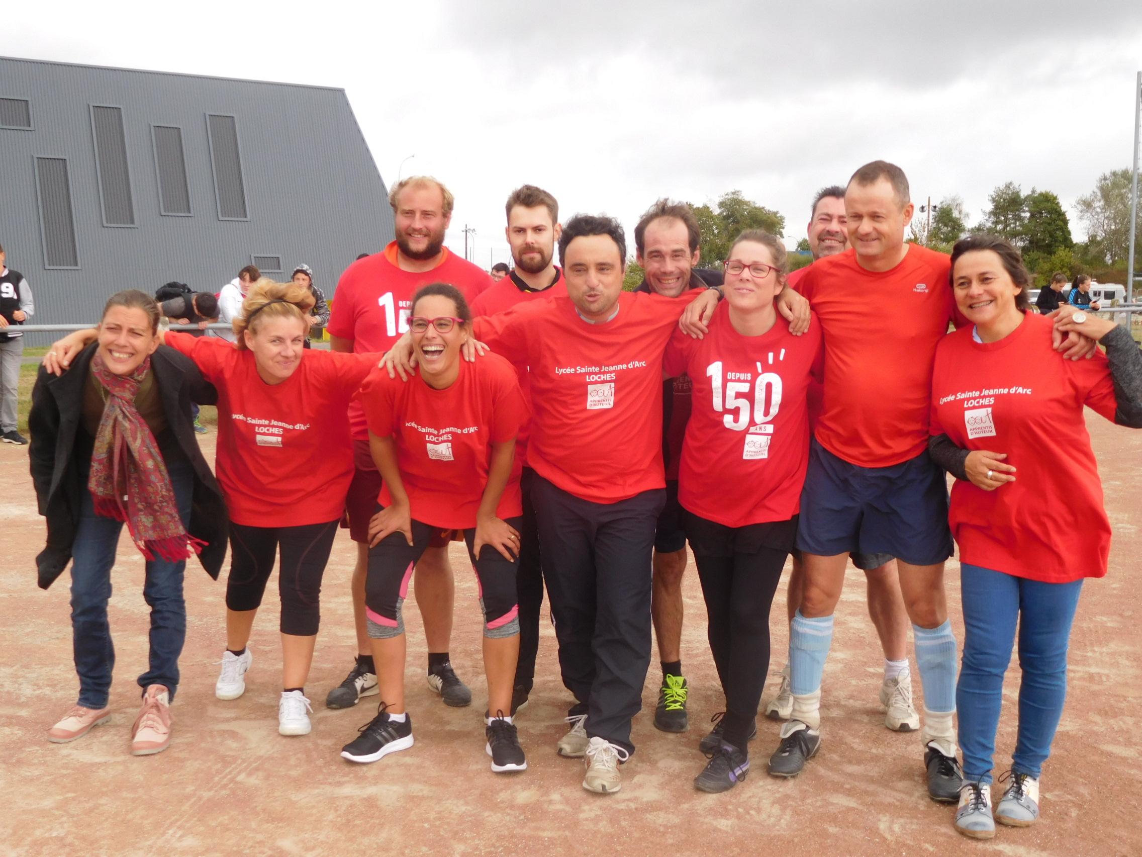 L'équipe des professeurs/éducateurs du Lycée Sainte Jeanne d'ARC